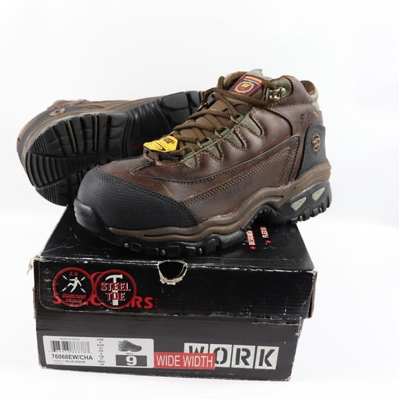 29d7058a885cc Skechers Shoes | Mens 9 W Electrical Safety Work Boots | Poshmark